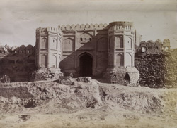 Bala Hissar Gate, leading to City [of Kabul].